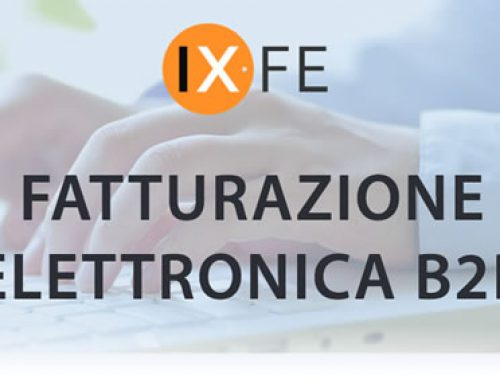 Fatturazione elettronica per il B2B
